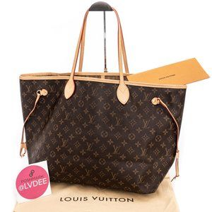 LOUIS VUITTON *BIGGEST* Neverfull GM Monogram Bag